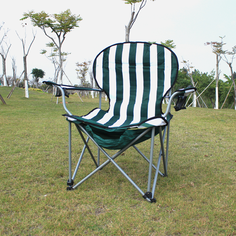 Strengthen Load Bearing Outdoor Lounge Chair Folding Light Portable Fishing Stool Beach Chair Widening Camping And Picnic Seat