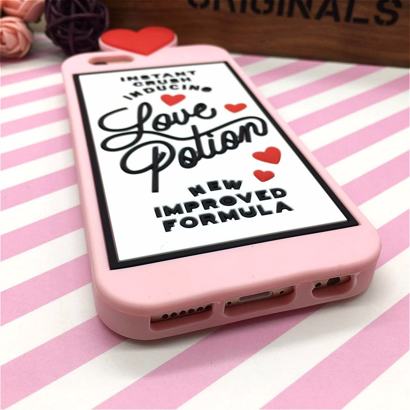 HTB1ugIVNFXXXXbkXXXXq6xXFXXXY - Fashion 3D Sweet Love Polion Chill Pills Rubber Soft Cute Back Cover for Apple iPhone 6 6s 4.7'' Funny Silicone Phone Case Shell PTC 232
