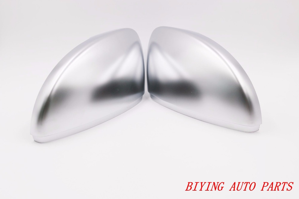 For Passat B7 CC Scirocco Side Assist Chrome Silver Mirror Covers in Mirror Covers from Automobiles Motorcycles