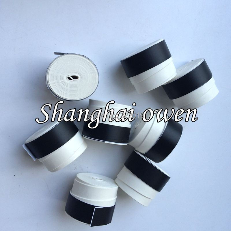 10 pieces(white color)NO Logo OEM overgrip grip,dry feel for tennis racket, badminton racket,squash racket,fishing rod