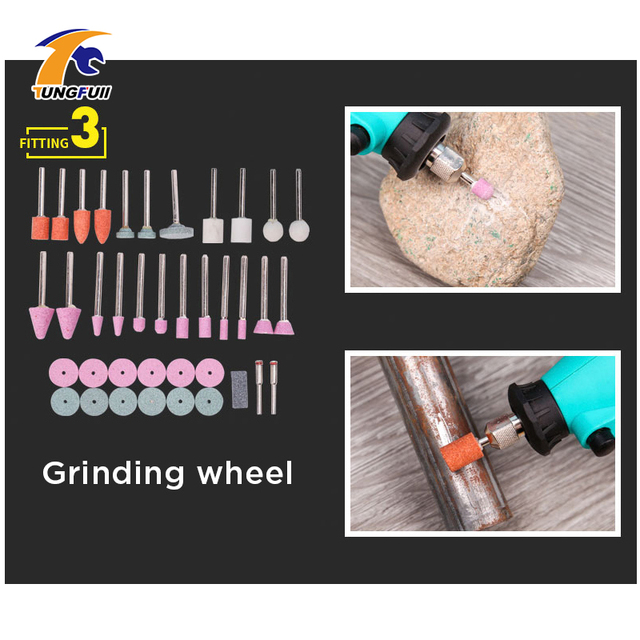 Tungfull mini electric drill accessories drill bits woodworking tools Variable Speed Electric Rotary Tool  Mini Drill Grinder 2