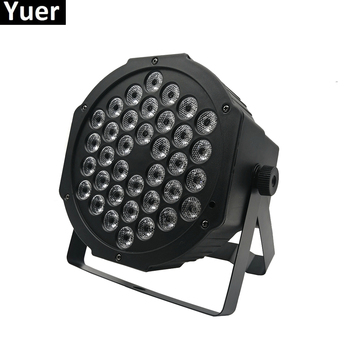 Led Par Light RGB 36x3W Disco Wash Light Equipment 3 /7 Channels DMX 512 Led Uplights Dj Party Stage Lighting Effect Lights 12pcs illusion plastic par light rgbw 4in1 disco wash light equipment 8 channels dmx 512 led effect stage dj party lighting