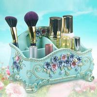 Cosmetic Storage Boxes Bathroom Storage & Organization Makeup Organizers Bedroom Storage Boxes Eco Friendly Resin Storage Boxes