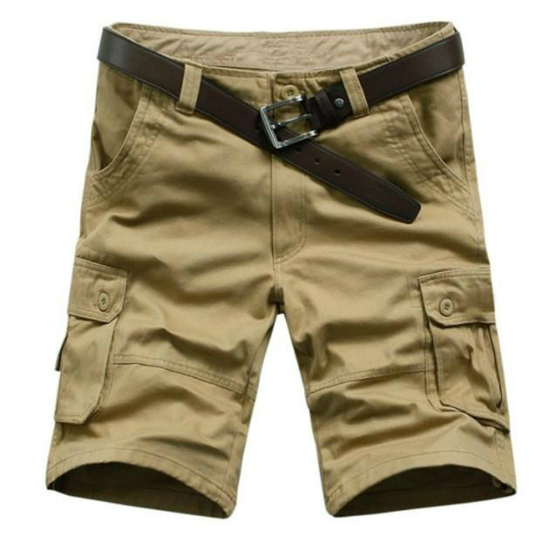 Summer Cargo Shorts Men Beach Short Army Military Style Male Special Police Tactical Shorts Clothing Pockets Casual Shorts