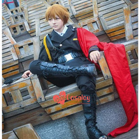 Anime game The king's avatar cos Huang Shaotian Halloween Unisex female male military uniform cosplay costumes