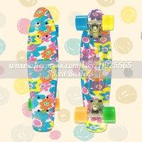 Mini Cruiser Banana Skate Board Longboard The Deck And Wheels ABEC 9 Skate Board Hot Wheels