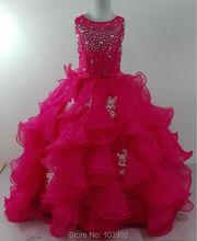 Princess Flower vestido Girl