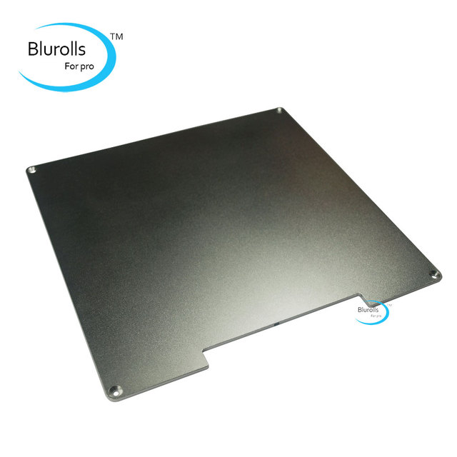 Reprap Prusa i3 3D printer parts Anodized Aluminum BUILD PLATE for Heated Bed Oxidation treatment