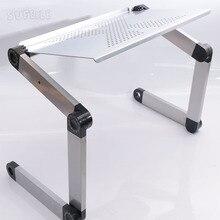 1 шт. ноутбук стол 360 градусов Регулируемый складной ноутбук стол Table Stand портативный кровать лоток D5
