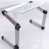 1pc Laptop Desk 360 Degree Adjustable Folding Laptop Notebook Desk Table Stand Portable Bed Tray