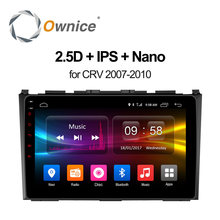 Ownice C500 + Android 6.0 Octa 8 ядра dvd-плеер для HONDA 2007 2008 2009 2010 CRV CR-V GPS навигация стерео видео 4 г LTE
