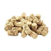 10 шт./лот, новинка, неиспользованный прямой натуральный пробковый винный пробка для винной бутылки для хранения материала 2*3,8 см