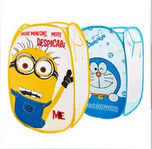 Portable Minions Dirty Laundry Bucket