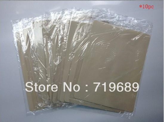 Gratis frakt 10st 20x15cm Blank Tattoo Practice Skin Sheet för Needle Machine Supply Kit Plain