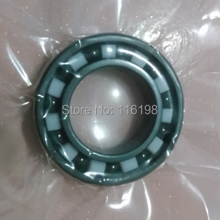 6002 full SI3N4 ceramic deep groove ball bearing 15x32x9mm P5 ABEC5