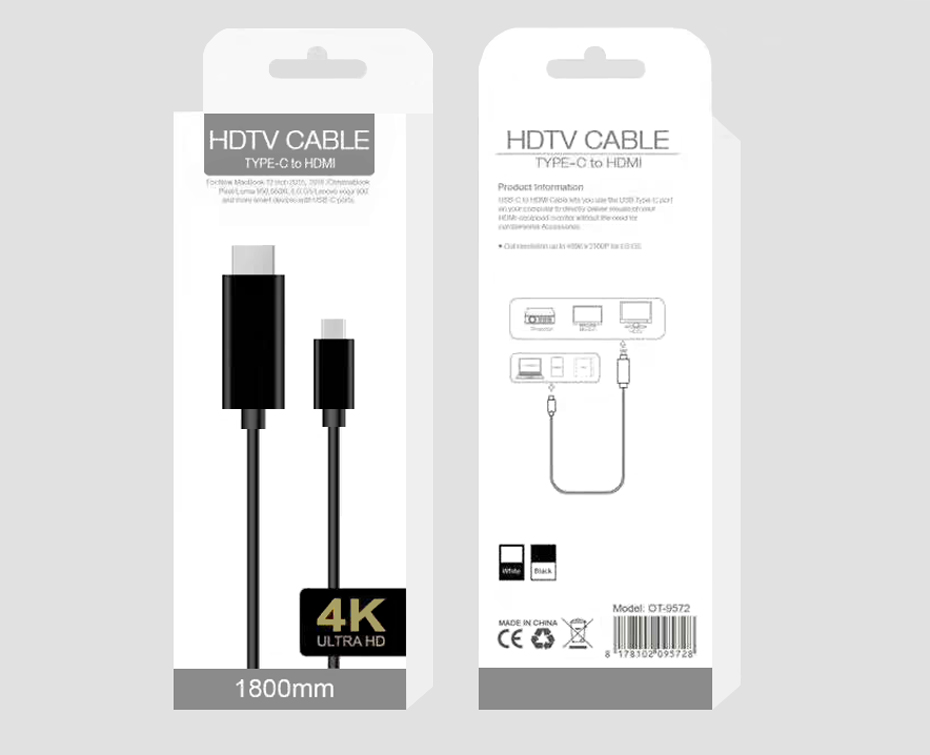 USB C HDMI Cable USB Type C to HDMI Adapter 11