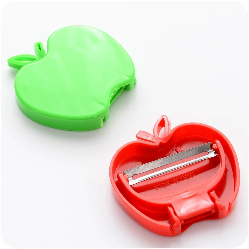 New Foldable apple-shaped fruit peeler apple plane kitchen gadgets Kitchen Acces