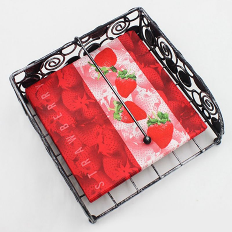 2-ply Printed Paper Napkins for Weeding Dinner and Party 20 pcs/lot Party Supplies