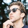 Gafa de sol хомбре Мода Поляризованные солнцезащитные очки polaroid Круглый Женщины Деревянный Ручной Работы RB4246 Марка дизайн мужчины óculos де золь