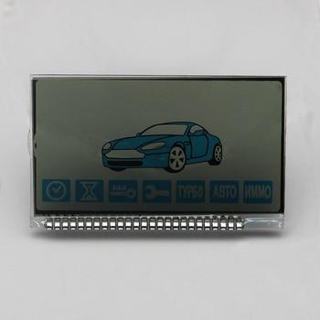 Pantalla LCD B92 para el sistema de alarma de coche de dos vías ruso Starline B92 B94 lcd llavero de control remoto llavero