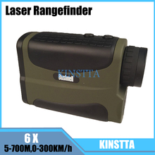 Telescope laser rangefinders speed 0-300KM/h distance 5-700m hunting golf range finder medidor de distancia a laser measure