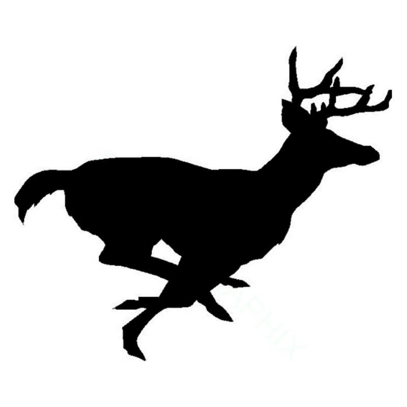 15 2 12 6cm Running Buck Deer Fashion Stickers Car Styling