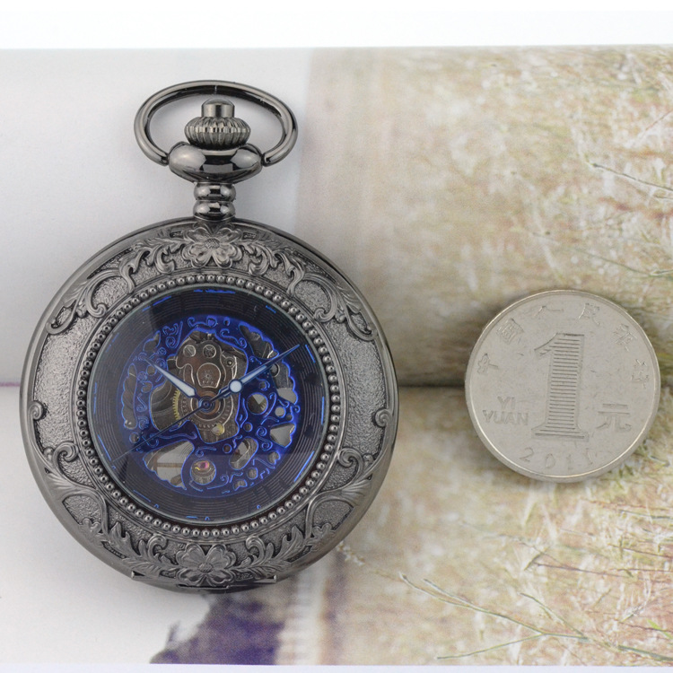 Antique Steampunk Bolso & Fob Relógios de