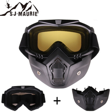 SJ-Maurie 2 In 1 Winter Sports Skiing Goggles Ski Snowboard