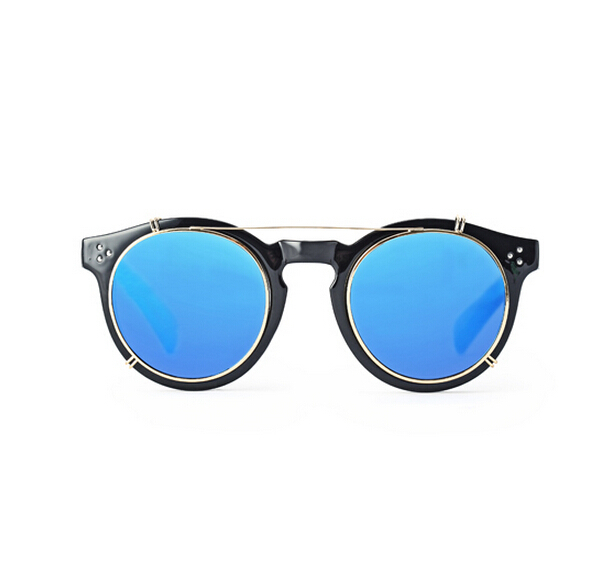 786efaf0d 2015 Happy Freedom Brand Sunglasses Unisex Vintage Frame Metal Swag Punk  Reflective Mirror Round Eyewear Oculos De Sol Feminino