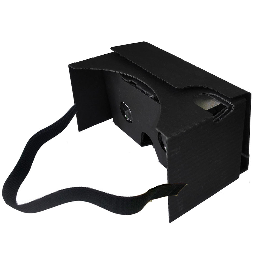 Sannysis 2017 New Arrival DIY vr box For Google Cardboard V2 3D Glasses Virtual Reality Fit 6Inch Phone +Headband For Samsung