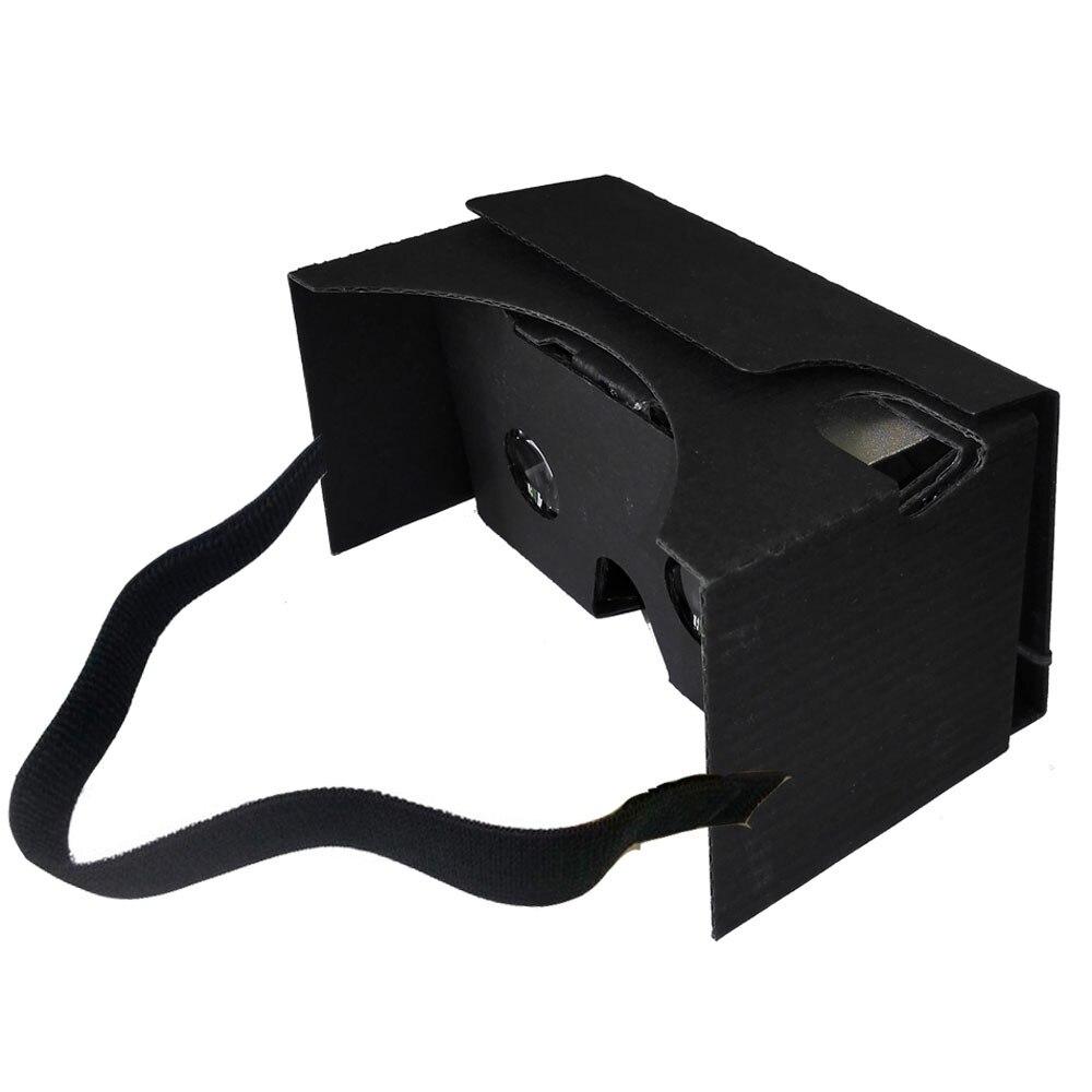 Sannysis 2018 New Arrival DIY VR For Google Cardboard V2 3D Glasses Virtual Reality Fit 6Inch Phone +Headband For Samsung