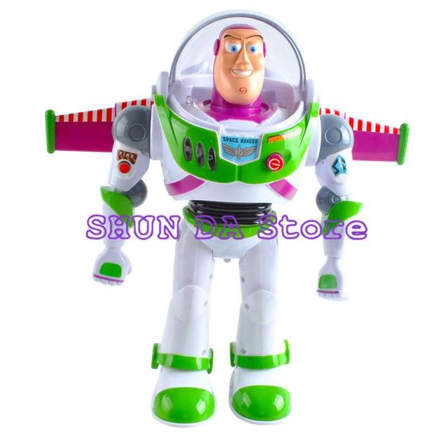 2018 7 new arrival toy story 5 buzz lightyear toys will walk shine