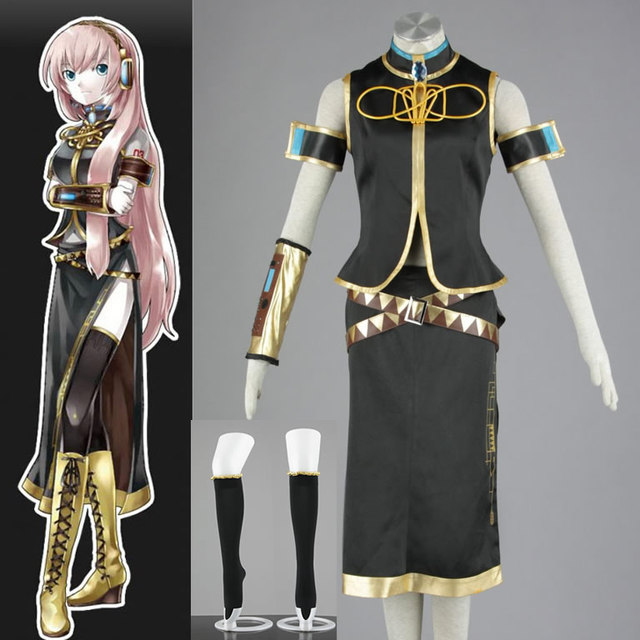 halloween costume hatsune miku project diva megurine luka cosplay costume