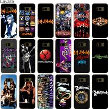 Lavaza Def Leppard Case for Samsung Galaxy S9 S8 S7 S6 Edge Plus(China)