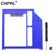 "CHIPAL 10 piezas 2nd HDD Caddy 9,5mm SATA 3,0 2,5 ""2 TB Disco Duro SSD para Macbook Pro aire 13 ""15"" 17 ""SuperDrive Bay(China)"