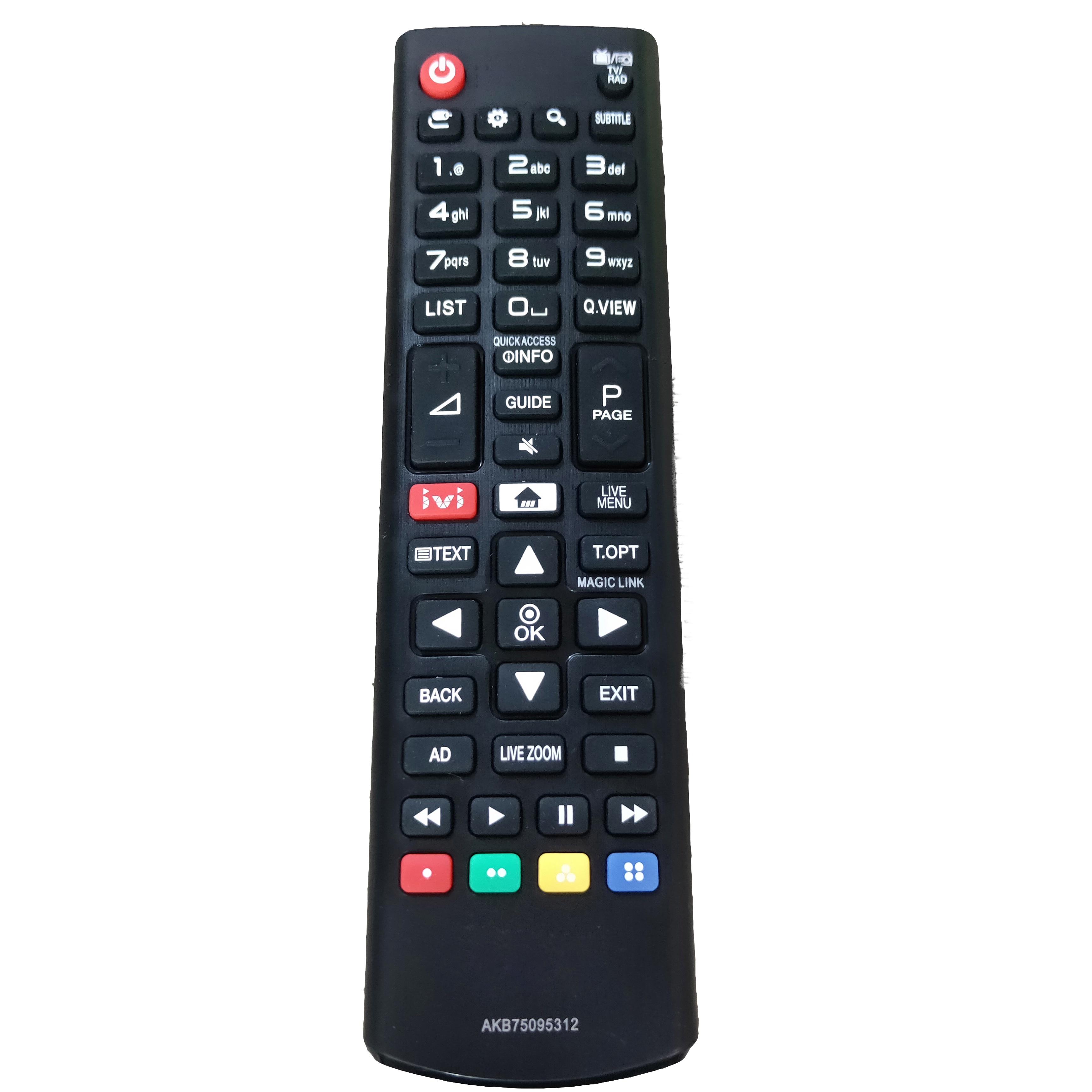 Neue AKB75095312 Ersatz für LG LCD LED TV mit IVI Fernbedienung 2017 43UJ634V-Zd Fernbedienung
