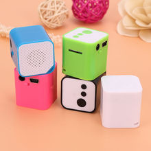 Fashion USB MP3 Player Support Micro SD TF Card Music Media Mini Speaker Gifts