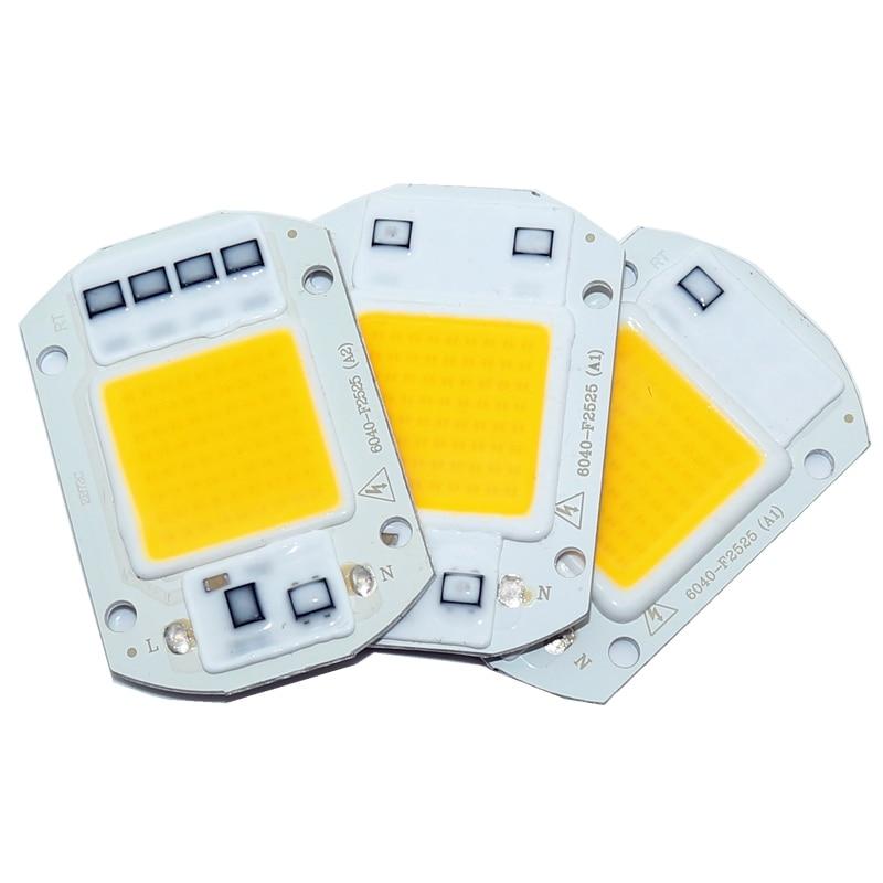 все цены на 20pcs LED Matrix 20/30/50W110/220VDiode Array High Power Smart IC Chip Light For Searchlight matrix Outdoor Spotlight Floodlight