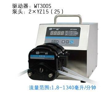 87d4afa517ba8 WT300S 2xYZ15 مختبر الأغذية الصناعية الأساسية سرعة تعبئة الجرعات مضخة تحوي  المتغير 50-990 مللي دقيقة