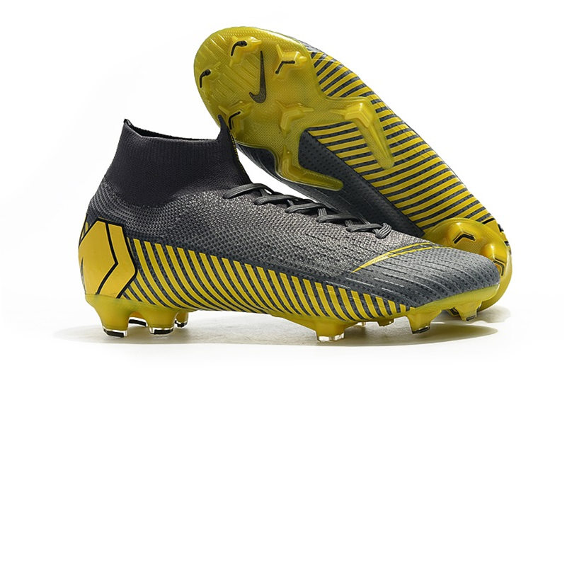 d022af29f ZISA Mens outdoor high ankle flyknit Football Boots 2019 SUPERFLY VI Elite  360 FG
