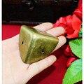40 мм античный стиль металла коробка угловой Железный защитный чехол край Защитная угловая крышка, деревянная коробка углы, бронзовый тон - фото