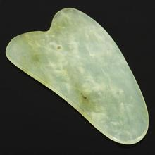 2PCS Scraping Body Facial Massager Scrape Plate Chinese Treatments Natural Jade  Massage Care Healthy Tool Z4