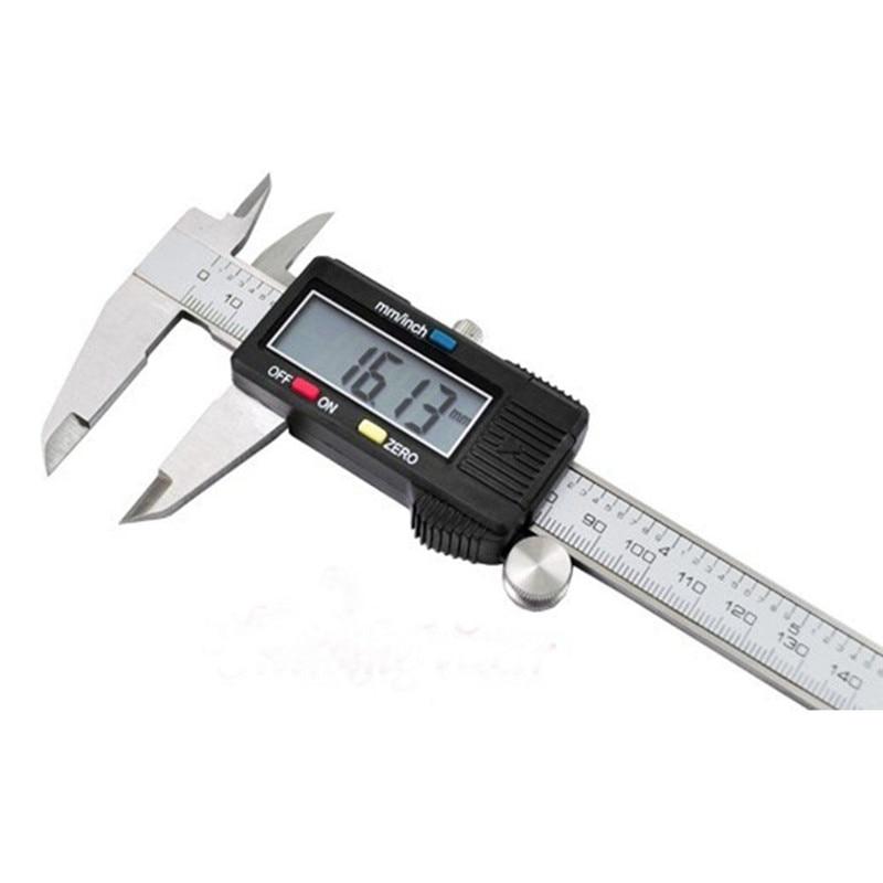 150mm Digital Electronic Gauge Stainless Steel Vernier 6 inch Caliper Micrometer