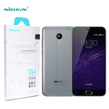 Meizu m2 mini protector de pantalla nillkin increíble h + anti-explosión de cristal templado de meilan m2 mini