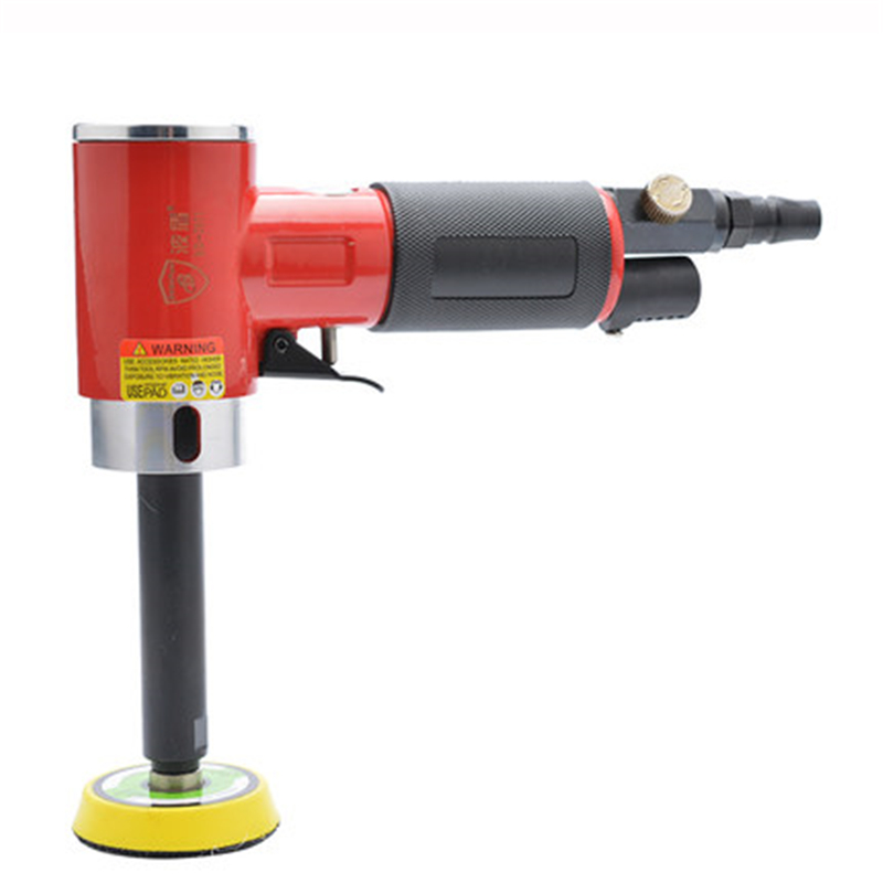 50mm Air Sander 2 Straight Core Pneumatic Air Sanders Extra-L Concentric Pneumatic Polisher Polishing Furniture Sanding Buffing