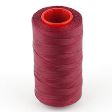 Винно красная вощеная нить 250 м 1 мм плоская шнур для шитья