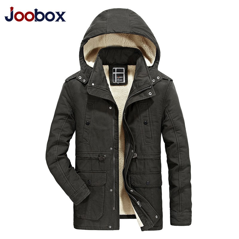 Brand Winter New Arrival Plus Size Korean Style Fur Lining Cape Long Sleeved Zip Jacket Parkas Hombre Invierno Mens Collar Coat