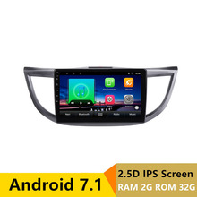 10″ 2+32G 2.5D IPS Android 7.1 Car DVD Multimedia Player GPS For HONDA CRV 2012 2013 2014 2015 2016 car radio stereo navigation