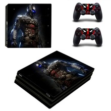 Batman and Superman PS4 Pro Skin Sticker Vinyl Decal Sticker