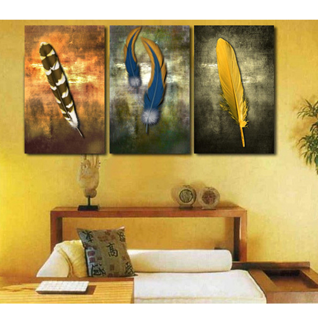 wall art picture home decoration living room panels three style